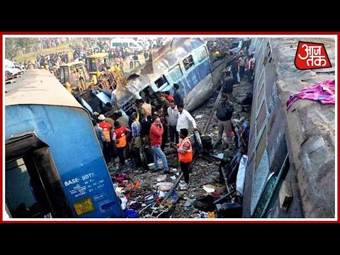 Indore-Patna Express Train Derails In Kanpur: 96 Killed, Over 150 Injured