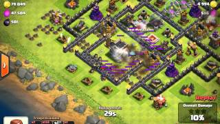 Clash of clans - BEST PUSHING BASE!? | UNDEFEATED | TROLL BASE | 423 TROPHIES IN 9 HOURS!