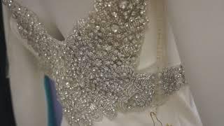 Вечернее платье в аренду Cream Tarik Ediz 92057 Couture Evening Dress Москва, Краснодар НОВИНКИ!