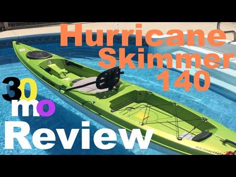 Kayak Fishing - Hurricane Skimmer 140 Kayak Review