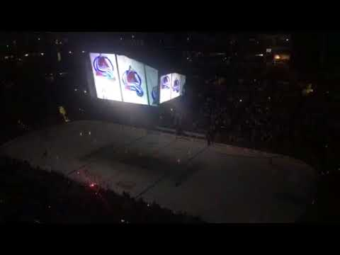 Avalanche-Predators Game Three Introduction