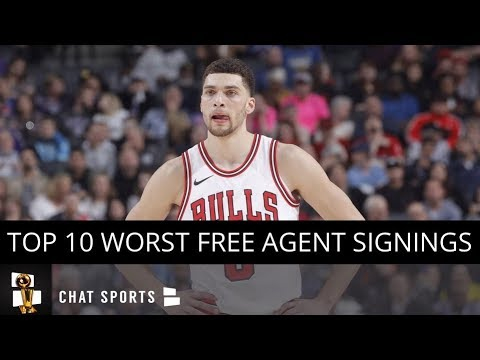 Top 10 Worst NBA Free Agent Signings This Offseason