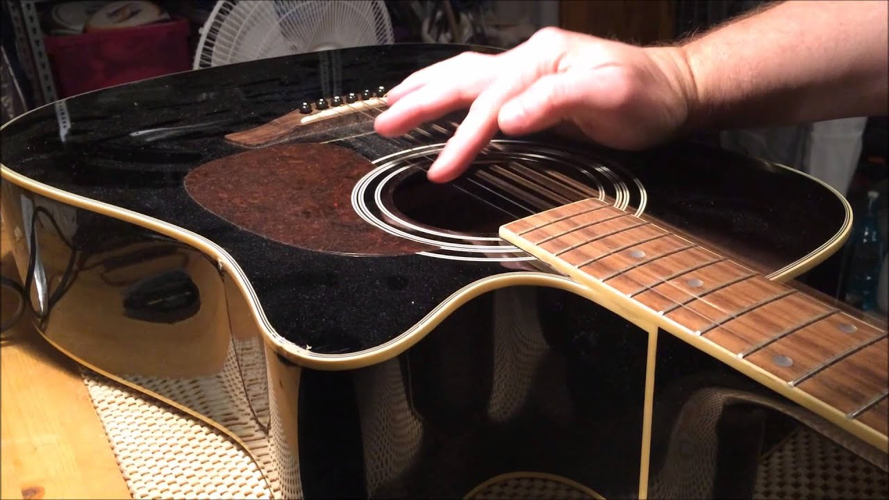 Vantage Acoustic Guitar Repair Youtube