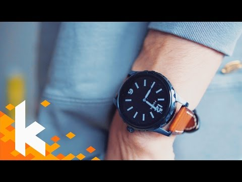 Schönste Smartwatch: Fossil Q Marshal Review!