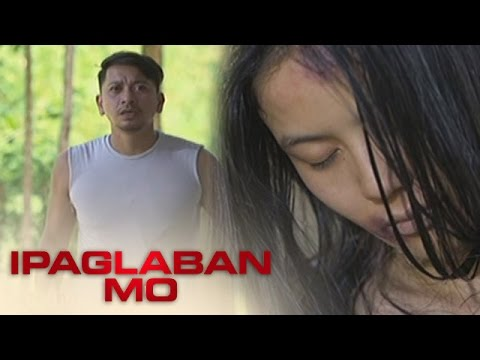 Ipaglaban Mo: Ely cries upon seeing Anna hanging from a tree.