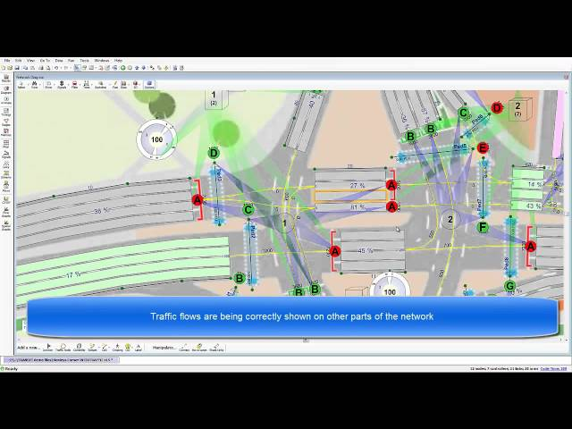 TRANSYT 15 - Solving Issues with Traffic Flow