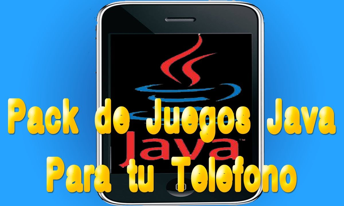 Tutorial Pack De Juegos Java Para Tu Celular Youtube