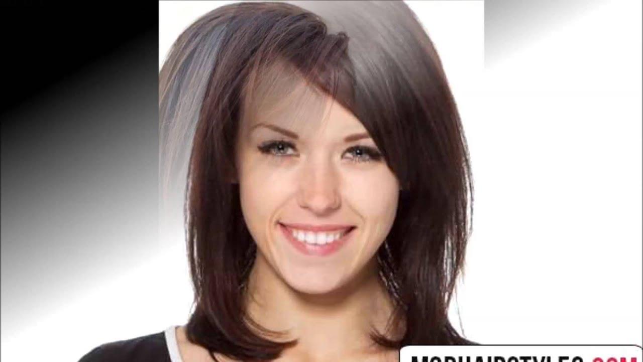 Medium Haircut For Thin Hair Youtube