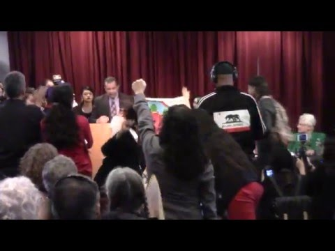 SFSU Students Demanded the Administration to Save Ethnic Studies Dept. on Feb. 25, 2016