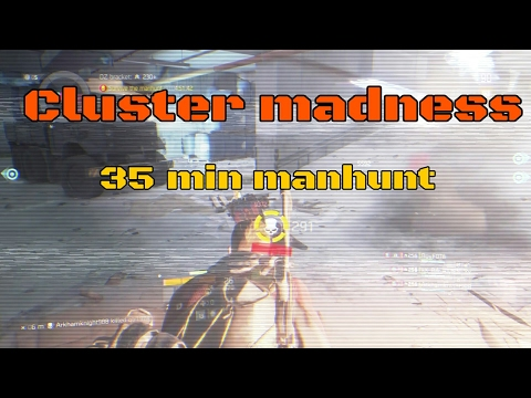 The Division manhunt cluster madness 1.6 seeker mines