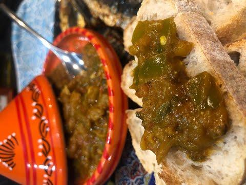 zaalouk-aubergines-poivrons-facile-/-recipe-zaalouk-eggplant-peppers-easy
