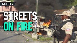 Anti-govt. Protests In Haiti 20 Dead 200 Injured Since September