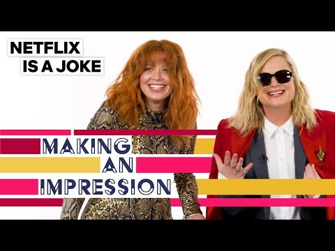 Watch Amy Poehler try to do an impression of Natasha Lyonne