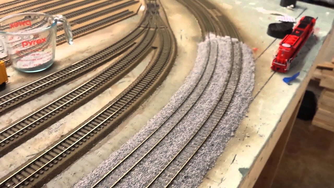 layout update ballast dcc wiring and more