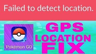 Pokémon go fix GPS signal not found