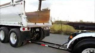 Sold! Kenworth T800 Tri/Axle Dump Transfer Truck Set Quad/Axle bidadoo.com