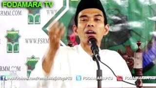 isbal menurut pendapat syaikh yusuf al qaradhawi - Ustadz Abdul Somad Lc.MA