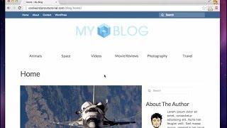 How to build a Blog - 2014 (Step By Step!)