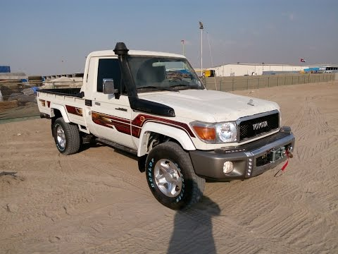 Turbo Toyota Land Cruiser Pickup Diesel 2016 In Dubai