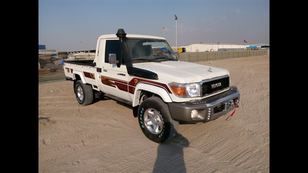 Turbo Toyota Land Cruiser Pickup Diesel 2016 In Dubai - YouTube