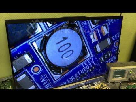 видео: Ремонт телевизора thomson t42e32dhu - ремонт платы tcon