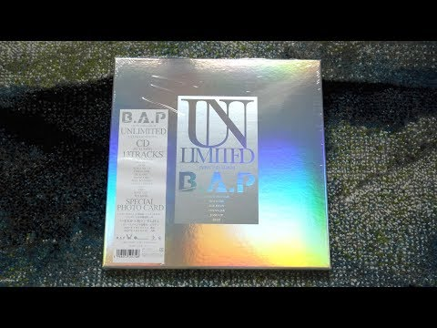 Unboxing B.A.P 2nd Japanese Studio Album Unlimited [Ultimate Edition]