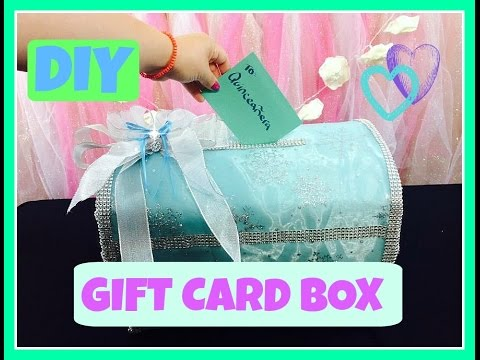 how to make a gift card box diy tutorial for quinceaneras