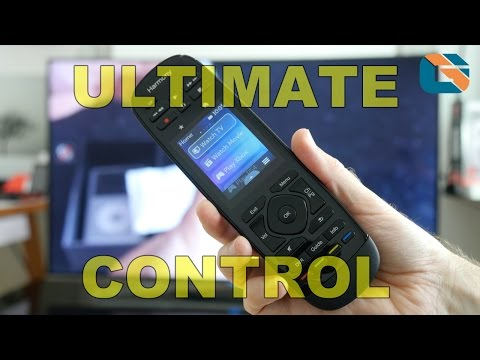 Logitech Harmony Ultimate Remote Control Review - No More Remote Clutter ! #LogitechHarmony