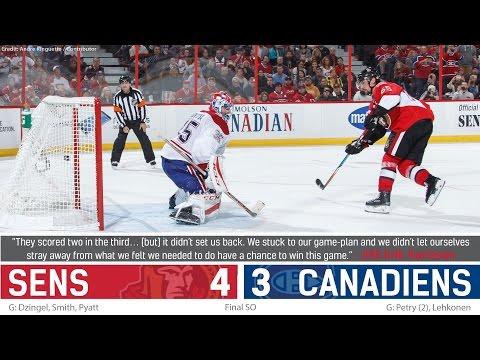 Oct 15: Sens vs. Canadiens - Post-game Media
