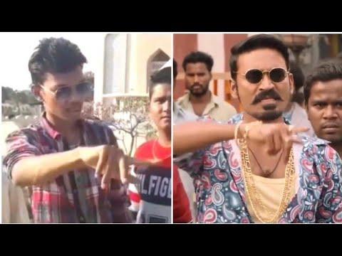 Senjiruven | Maari Mass Spoof Scenes | Dhanush | Anirudh | Real4Hansot |R4H