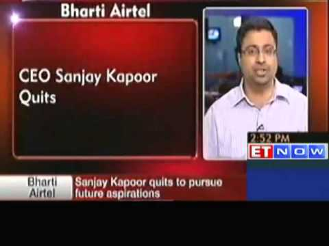 Bharti Airtel CEO Sanjay Kapoor Quits