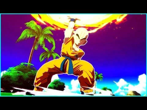 Krillin is Super Pissed off at Cell - Dragon Ball FighterZ Game |