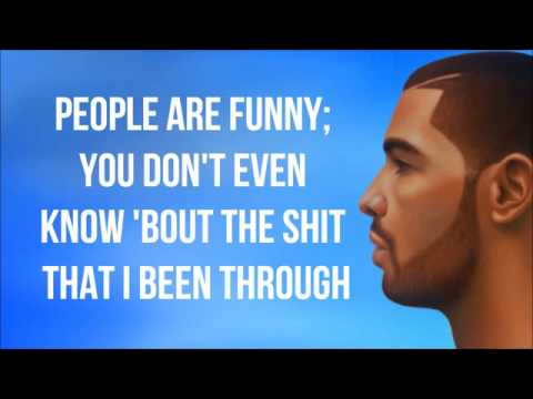 Drake   The Language Lyrics Video