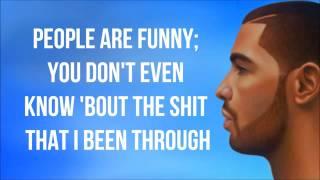 Drake   The Language Lyrics Video