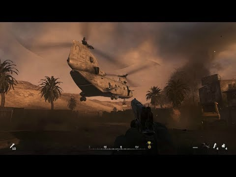 SHOCK AND AWE ! Epic Assault Mission from Call of Duty Modern Warfare Remastered