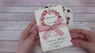 STUDIO VLOG ita 025 - carte matrimonio, sagome legno, primo videocorso