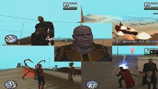 GTA Sa Avengers Infinity War # 2 ( Skins + Abilities )