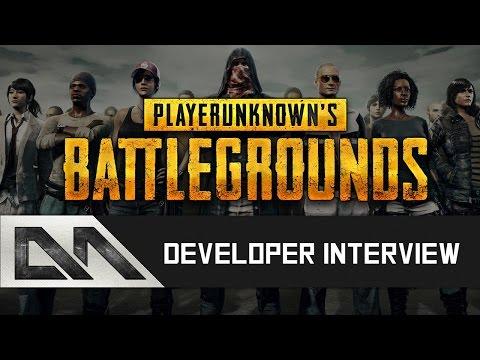 BATTLEGROUNDS Gameplay & Dev Interview w/ PLAYERUNKNOWN