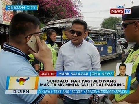 BT: Sundalo, nakipagtalo nang masita ng MMDA sa illegal parking