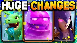 HUGE BALANCE CHANGES - BIG NERFS, TOO BIG?