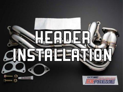Tomei UEL Header and Berk FrontPipe Install!