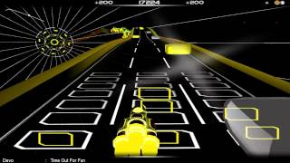 Devo - Time Out for Fun in Audiosurf