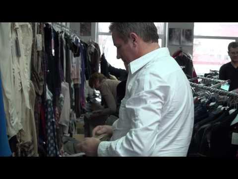 видео: вид 275.Работа .оптовый склад французской одежды