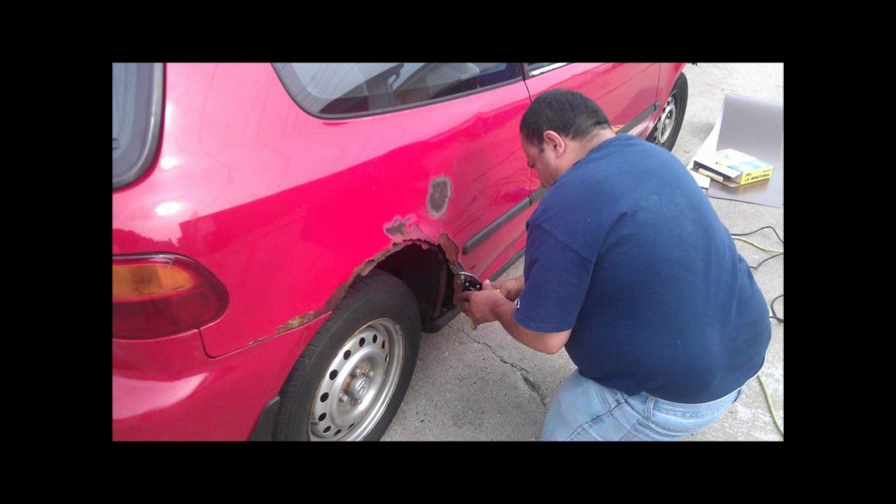Honda civic repair  YouTube