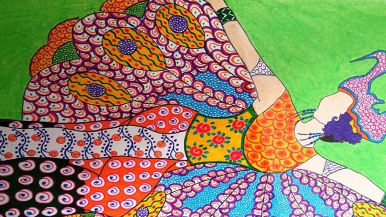 148 Gambar Sketsa Batik Untuk Anak Sd Gudangsket