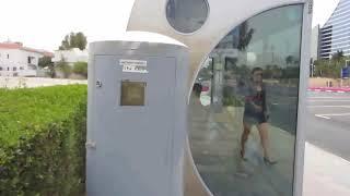 Автобусная остановка в Дубай  / Bus stop in Dubai [HD]