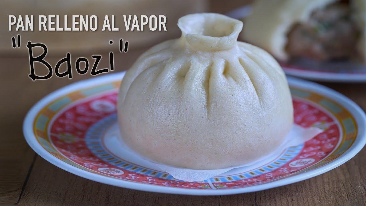 Comida china baozi receta
