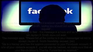FB HACKED! Jayden K Smith is not hacking your Facebook