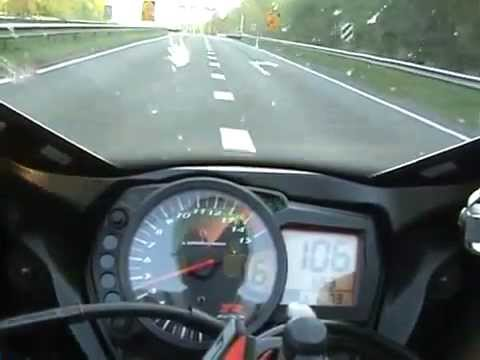 Suzuki Gsxr 1000 Topspeed - YouTube