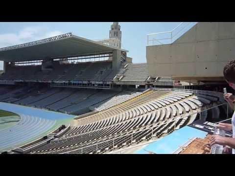 Estadi Olímpic Lluís Companys - Barcelona, Catalonia, Spain